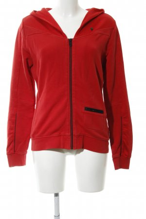 G-Star Sweatjacke rot Casual-Look