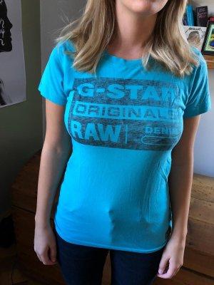 G-Star T-Shirt blau, fast nie getragen