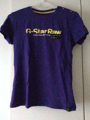 G-Star Camiseta violeta oscuro