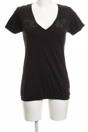 G-Star Camiseta verde oscuro look casual