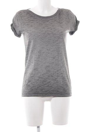G-Star T-Shirt grau-dunkelgrau meliert Casual-Look