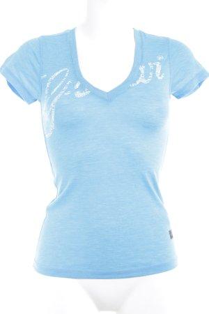 G-Star T-Shirt meliert Casual-Look