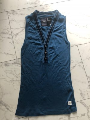 G-Star Blouse Top blue-black