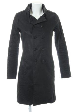 G-Star Trenchcoat schwarz Vintage-Look