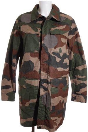 G-Star Übergangsmantel Camouflagemuster Casual-Look