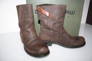 G-Star Borceguíes marrón Cuero