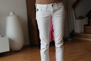 G-Star weiße Jeans Größe 36/38 skinny Hüfthose