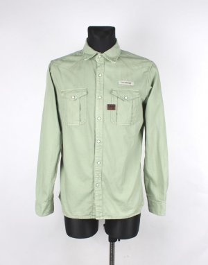 G-Star Western Diamond Denim Shirt Size L