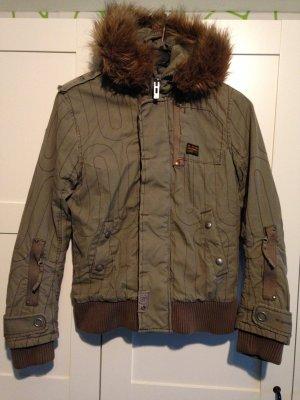 G-Star Winterjacke in khaki