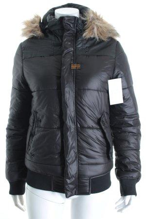 G-Star Winterjacke schwarz klassischer Stil