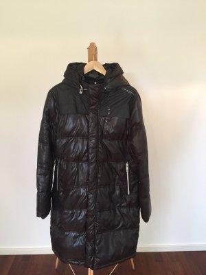 G-Star Abrigo de plumón negro-marrón oscuro