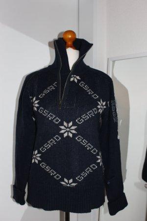 G STAR Winterpulli Blau mit RV L