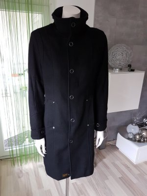 G-Star Wollmantel in schwarz