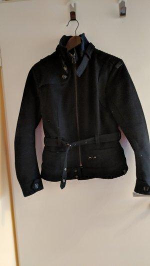 G-Star Abrigo de lana negro Lana