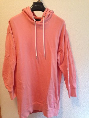G-Star Raw Sweater Dress pink-salmon cotton