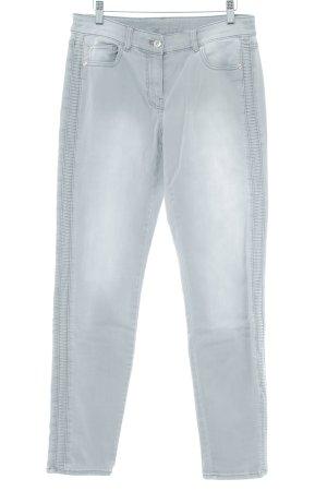 G.W. Five-Pocket Trousers light grey dandy style
