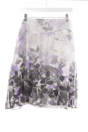 G.W. Flared Skirt floral pattern romantic style