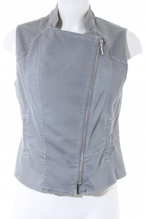 G.W. Denim Vest grey casual look