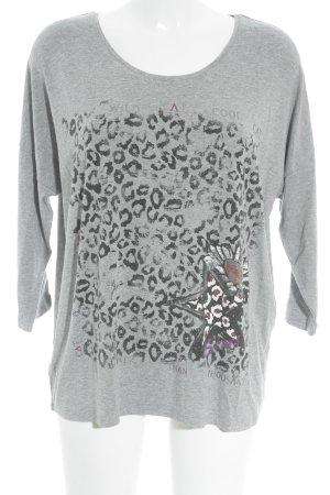 G.W. Longsleeve grau-schwarz Leomuster Street-Fashion-Look