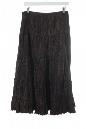 G.W. Maxi Skirt bronze-colored beach look