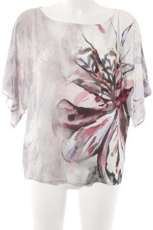 G.W. Oversized Shirt florales Muster extravaganter Stil