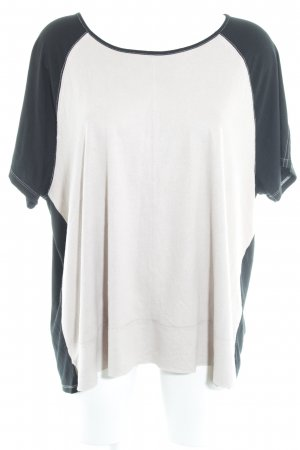 G.W. T-Shirt altrosa-schwarz Casual-Look