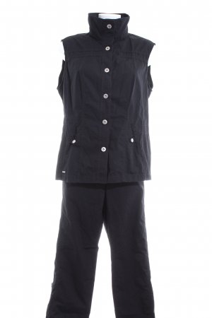 G.W. Woven Twin Set black casual look