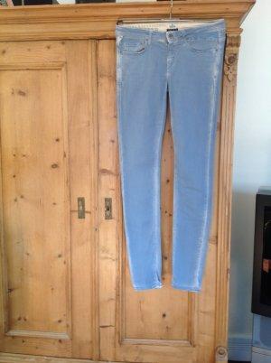 Gaastra Pantalone cinque tasche azzurro Cotone