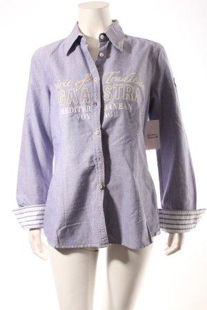 Gaastra Colletto camicia azzurro-blu stile casual
