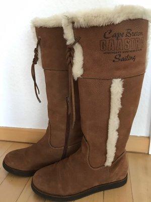 Gaastra Fur Boots brown