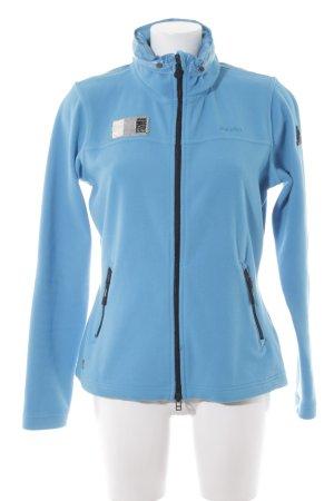 Gaastra Fleece Jackets light blue-black casual look