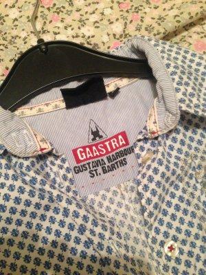 gaastra hemd blau weiß s