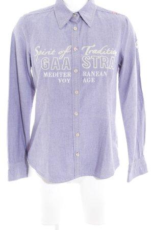 Gaastra Hemd-Bluse blauviolett Casual-Look