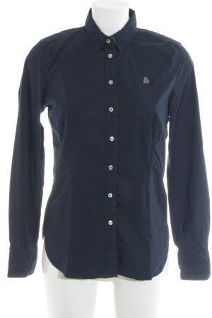 Gaastra Hemd-Bluse dunkelblau Business-Look
