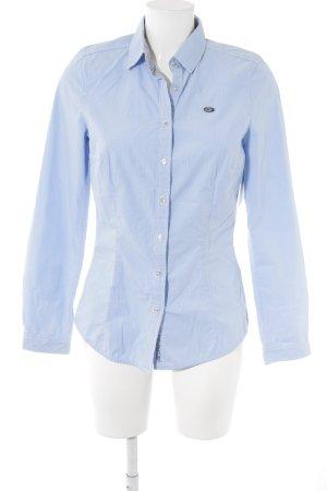 Gaastra Hemd-Bluse himmelblau-weiß Karomuster klassischer Stil