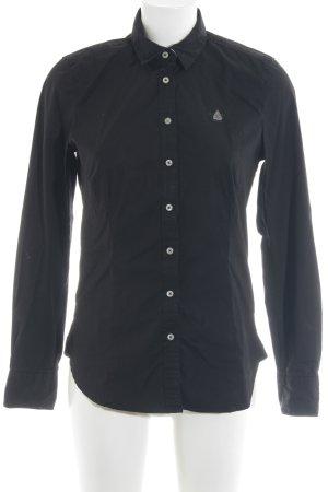 Gaastra Hemd-Bluse schwarz schlichter Stil