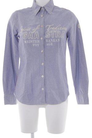 Gaastra Hemd-Bluse stahlblau Casual-Look