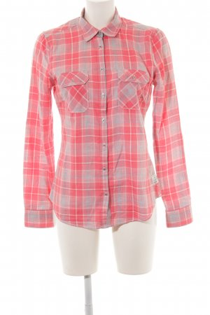 Gaastra Lumberjack Shirt light orange-light grey check pattern casual look