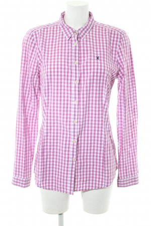 Gaastra Lumberjack Shirt white-violet check pattern casual look