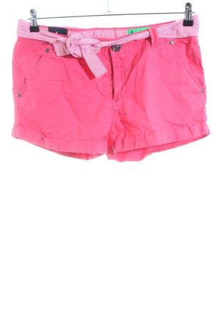 Gaastra Hot Pants pink Karomuster Casual-Look