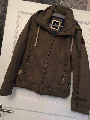 Gaastra Jacke Winterjacke khaki / braun Gr. L