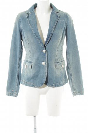 Gaastra Jeansblazer himmelblau Jeans-Optik