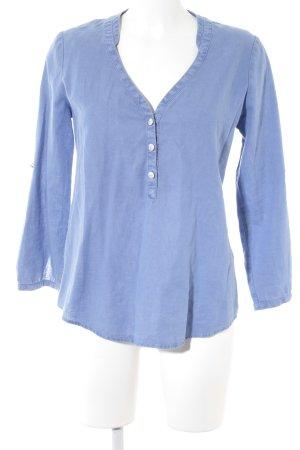 Gaastra Jeansbluse blau Casual-Look