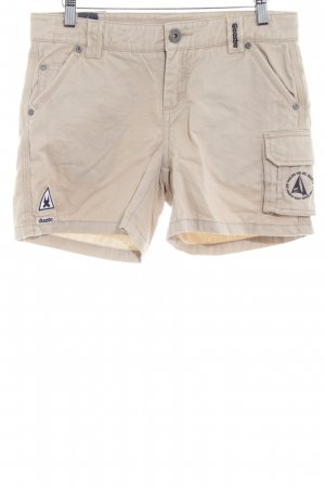 Gaastra Short en jean beige clair style simple