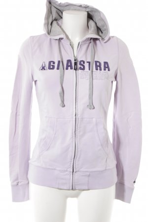 Gaastra Kapuzenjacke blasslila-dunkelviolett sportlicher Stil