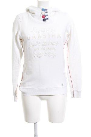 Gaastra Pull à capuche lettrage imprimé style athlétique