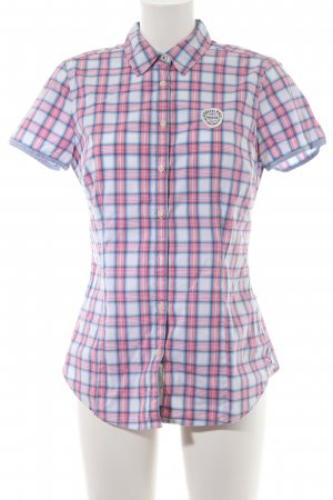 Gaastra Kurzarm-Bluse Karomuster Country-Look