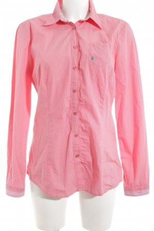 Gaastra Langarm-Bluse pink Allover-Druck Casual-Look