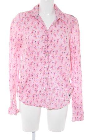 Gaastra Langarm-Bluse florales Muster Business-Look