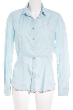 Gaastra Langarm-Bluse hellblau Casual-Look